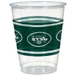NFL NEW YORK JETS 16oz PLASTIC CUPS  ~ Birthday Party Suppli