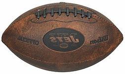 "NFL New York Jets 9"" Throwback Football"