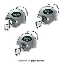 NFL New York Jets Auto Air Freshener, 3-Pack