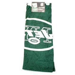 "NFL New York Jets Beach Towel 30"" x 60"""