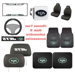 NFL New York Jets Choose Your Gear Auto Accessories Official