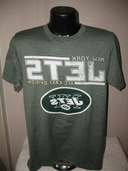 NFL New York Jets Football Soft Feel Comfort Tee Shirt Mens