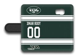 NFL New York Jets Personalized Name/Number Samsung Phone Wal