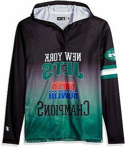 NFL New York Jets Super Bowl III Champions Hoody Tee, XX-Lar