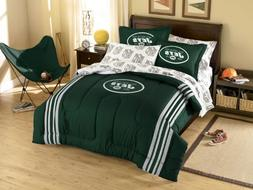 NFL New York Jets Twin/Full Size Comforter with Sham Set