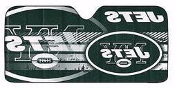 NFL New York NY Jets Deluxe Universal Fit Auto Windshield Su