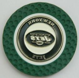NFL NY New York Jets Magnetic Poker Chip removable Golf Ball