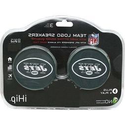 NFL Officially Licensed New York Jets iHip Speaker Set - Plu