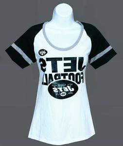 Nfl Womens Apparel - New York Jets Ladies Nfl Team Jersey/Te