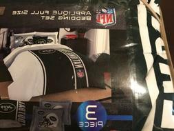 Northwest NFL New York Jets 2 Sham & Full Comforter Bedding