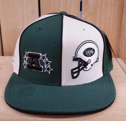 VINTAGE REEBOK NEW YORK JETS FITTED BASEBALL HAT CAP GREEN W